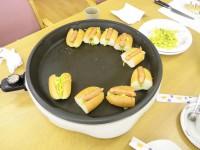 10月 お菓子作り(ホットドッグ)